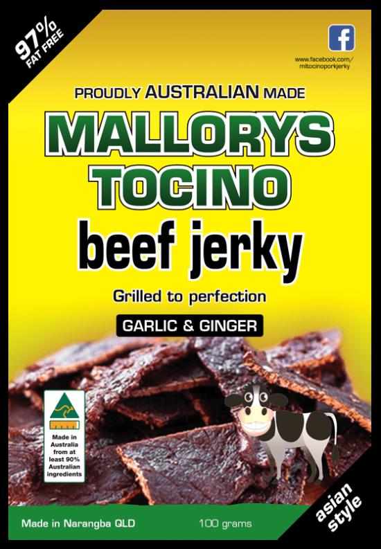 97% fat free beef jerky
