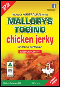 Chicken Curry Jerky 100g