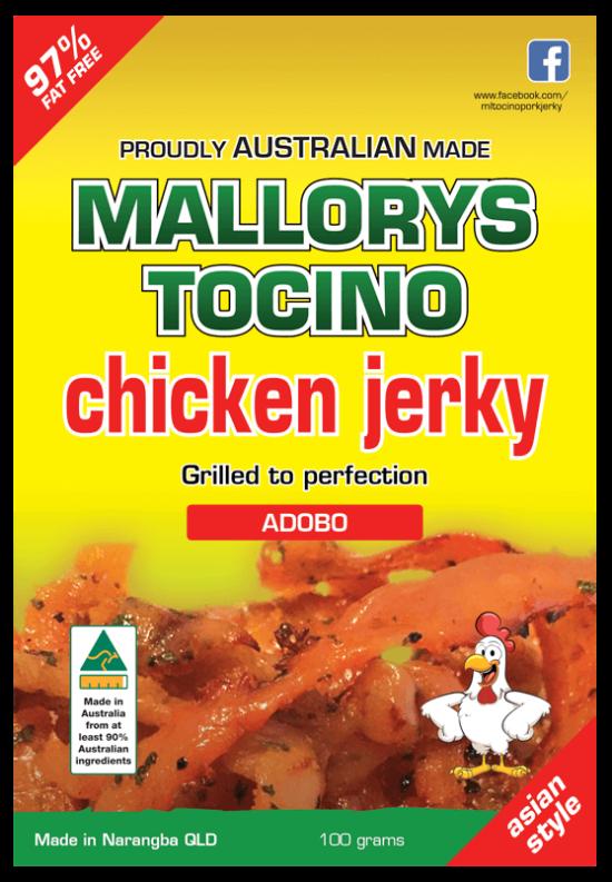 Adobo Chicken Jerky 100g