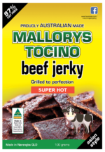Beef Jerky Super Hot 100g