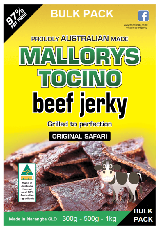 Bulk Pack Original Safari Jerky 300g, 500g & 1kg Packs