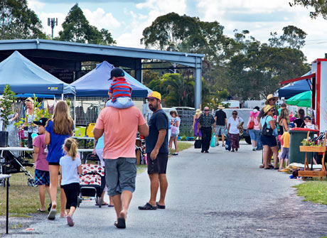 Mallorys Tocino is a stallholder at the Caboolture Country Markets