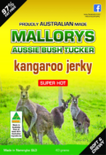 Super Hot Kangaroo Jerky 40 Grams