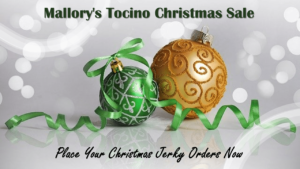 2020 Christmas Jerky Sale