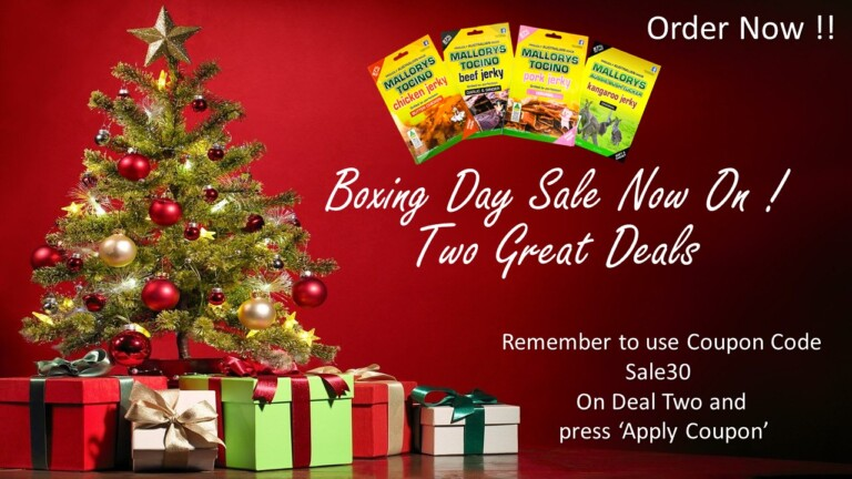 Boxing Day Sale 2020