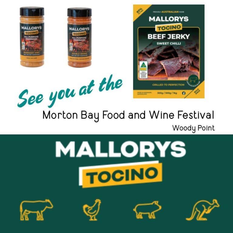 Morton bay food and wine festival Woody Point, Brisbane.